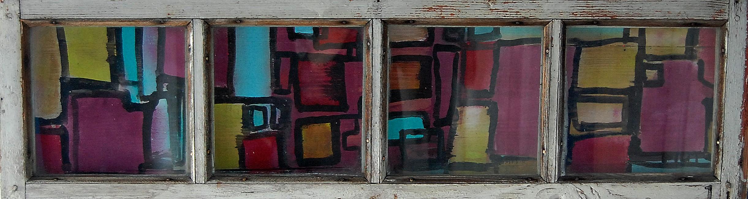Abstrakcja IV akryl Tomasz Motloch motlochartcom