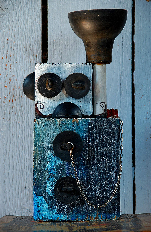 Gumiak robot analogowy Tomasz Motloch motlochartcom