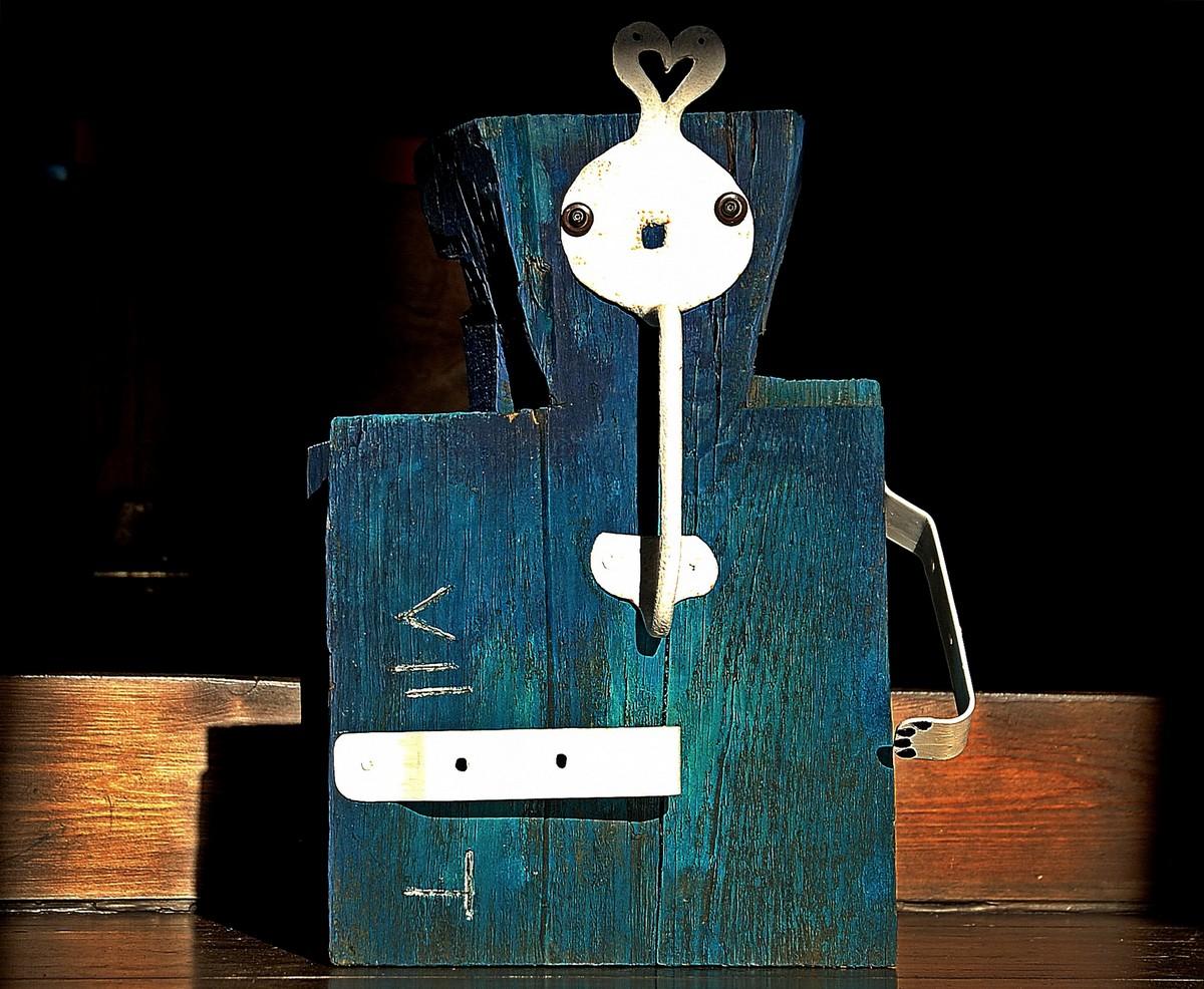 Lutek VII T1 2 robot analogowy Tomasz Motloch motlochartcom