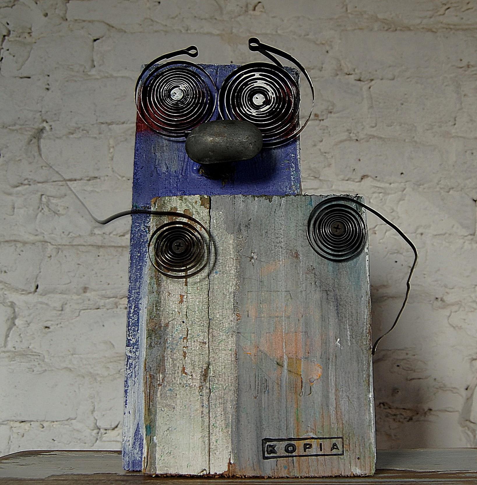 Zegarmistrz 1 robot analogowy Tomasz Motloch motlochartcom