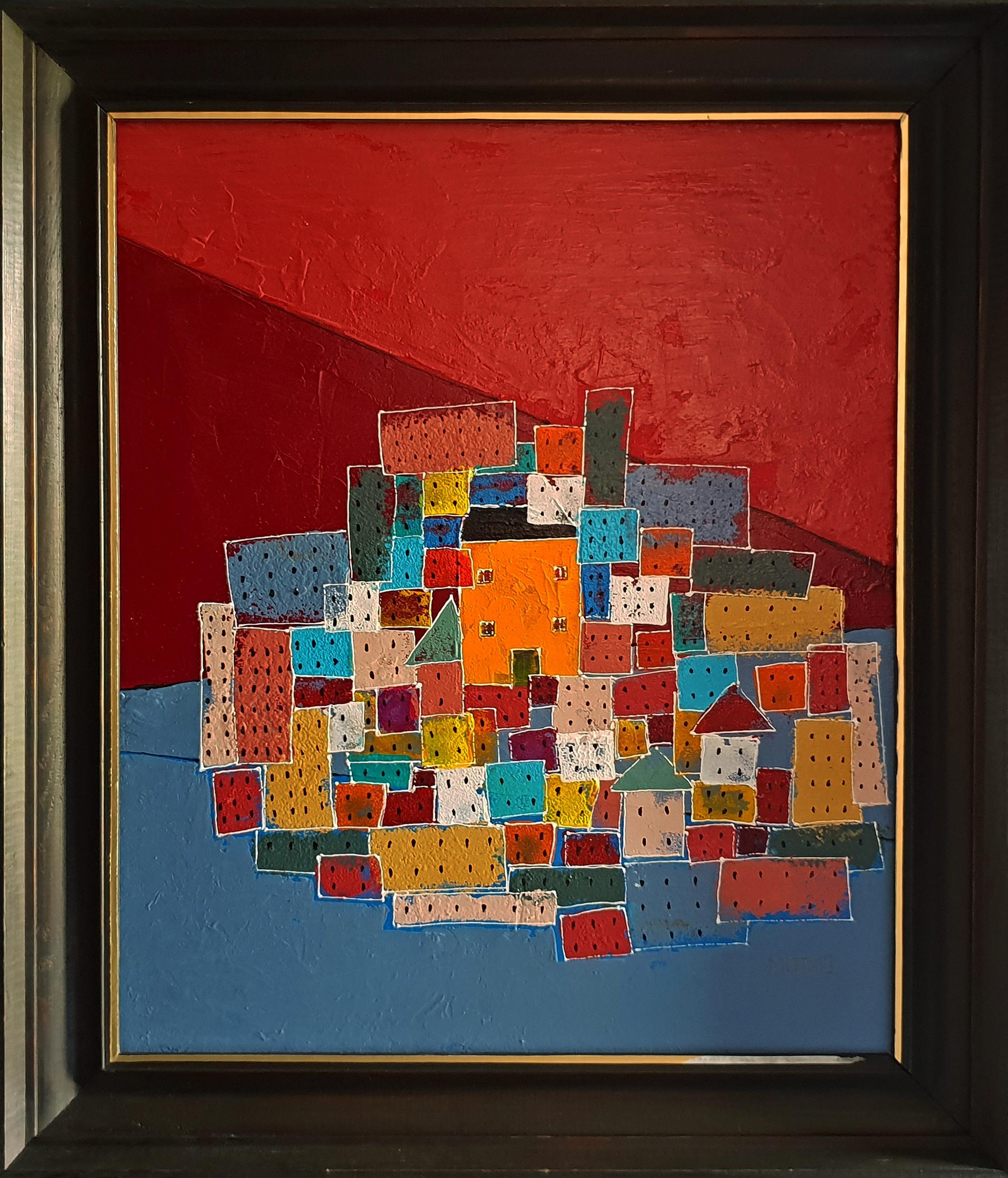 DEWELOPERKA akryl 46,5×55,5 tomasz motloch motlochartcom